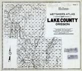 Title Page, Index Map - From Obsolete 1936, Lake County 1958